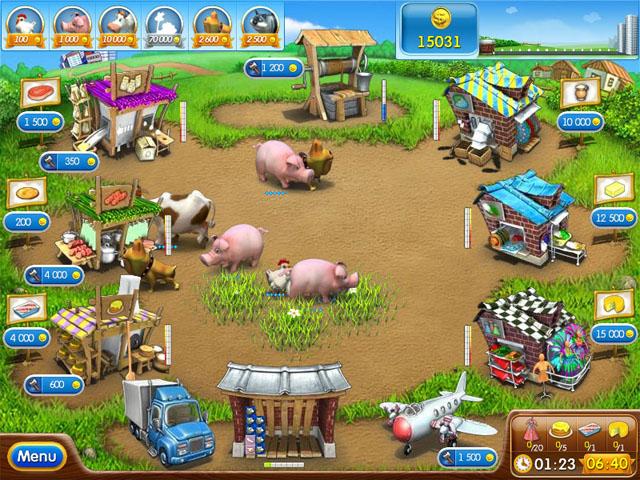 Farm Frenzy 2 - Free Online Flash Game